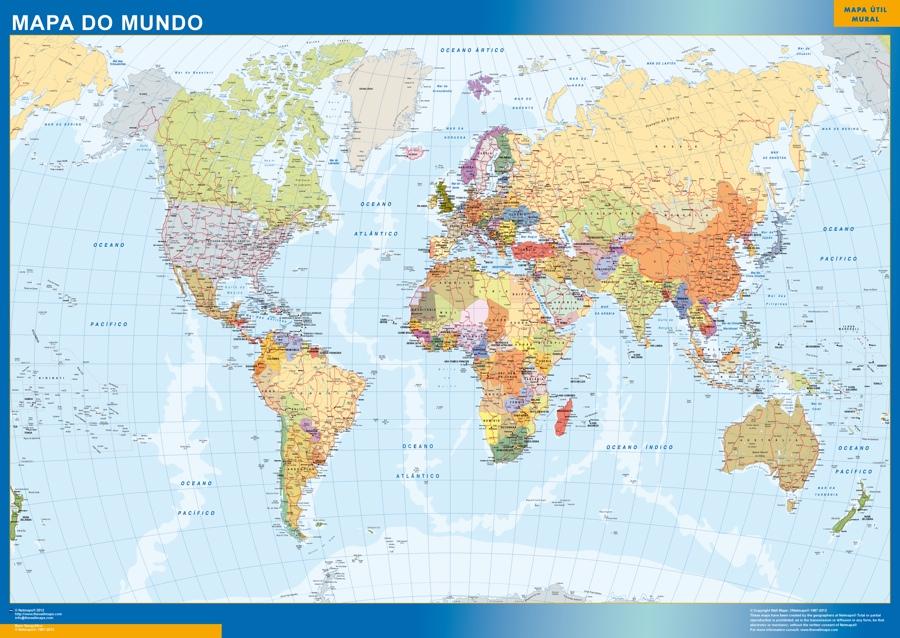 Mapamundi portugues