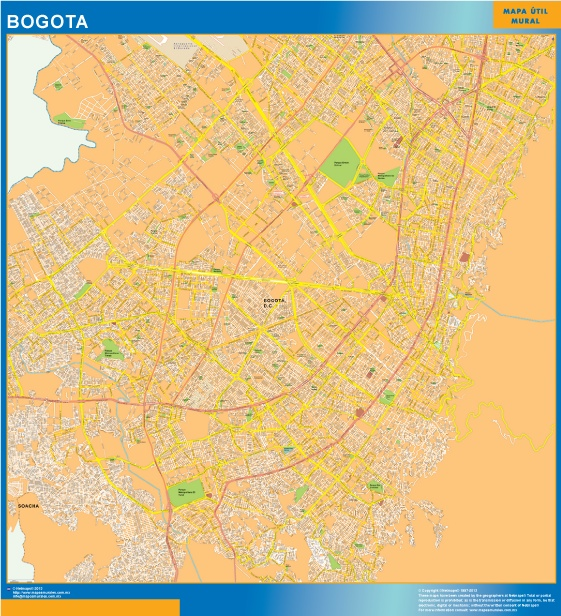 mapa bogota