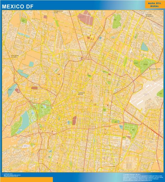 mapa mexico df