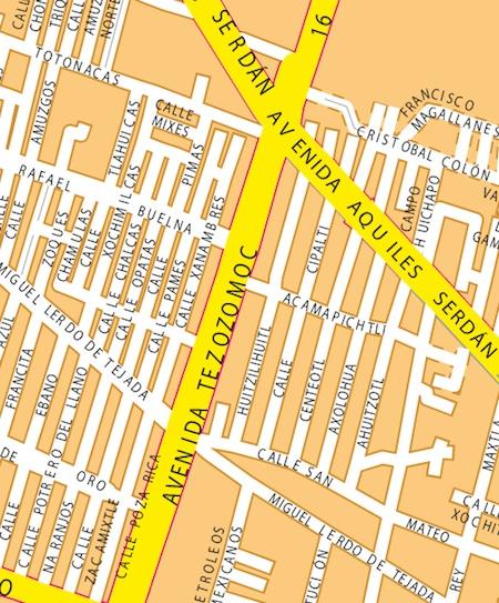 mapa mexicodf zoom