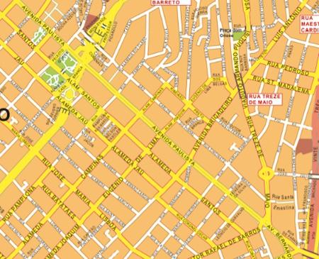 mapa mural sao paulo