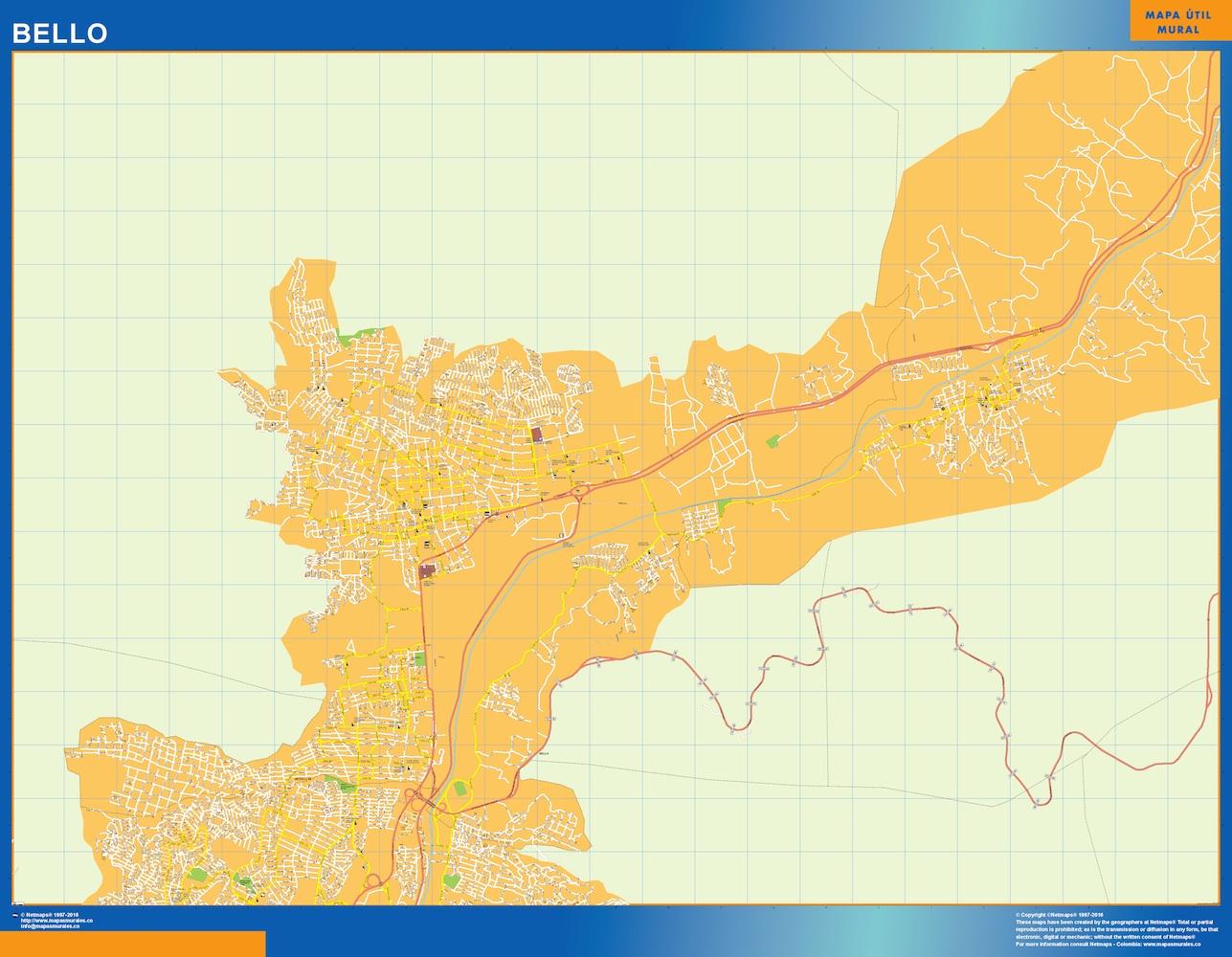 Mapa Bello