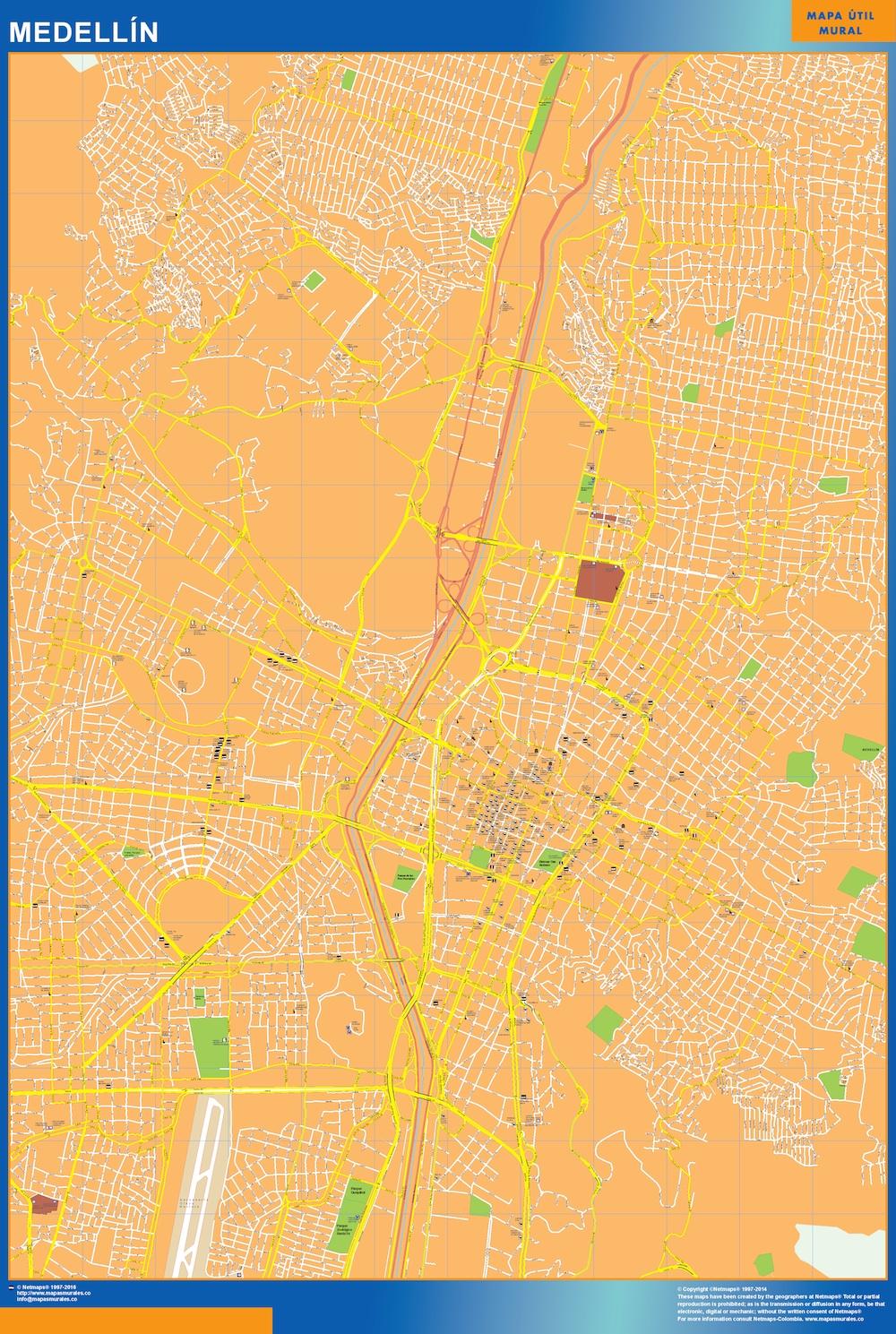 Mapa Medellin