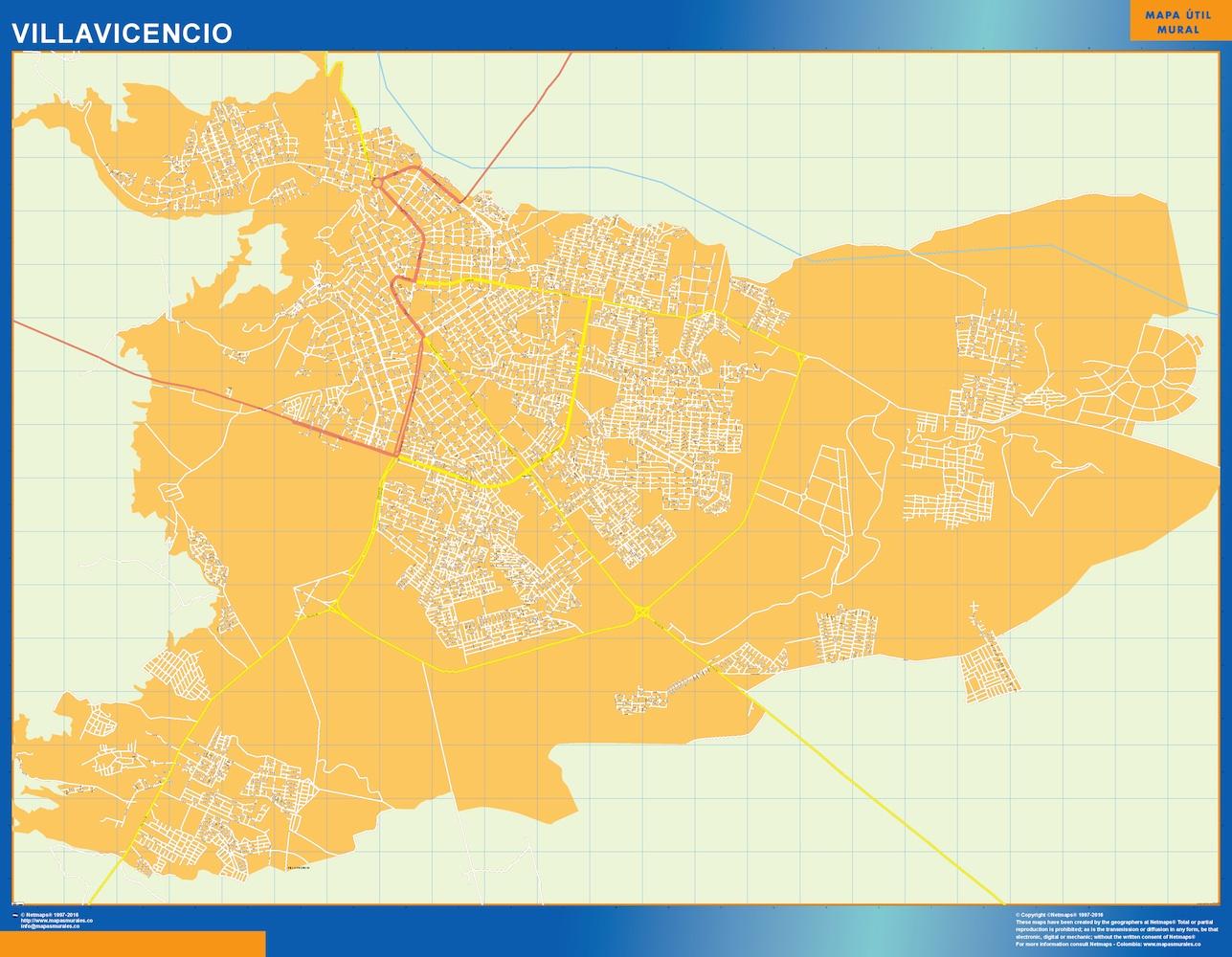 Mapa Villavicencio